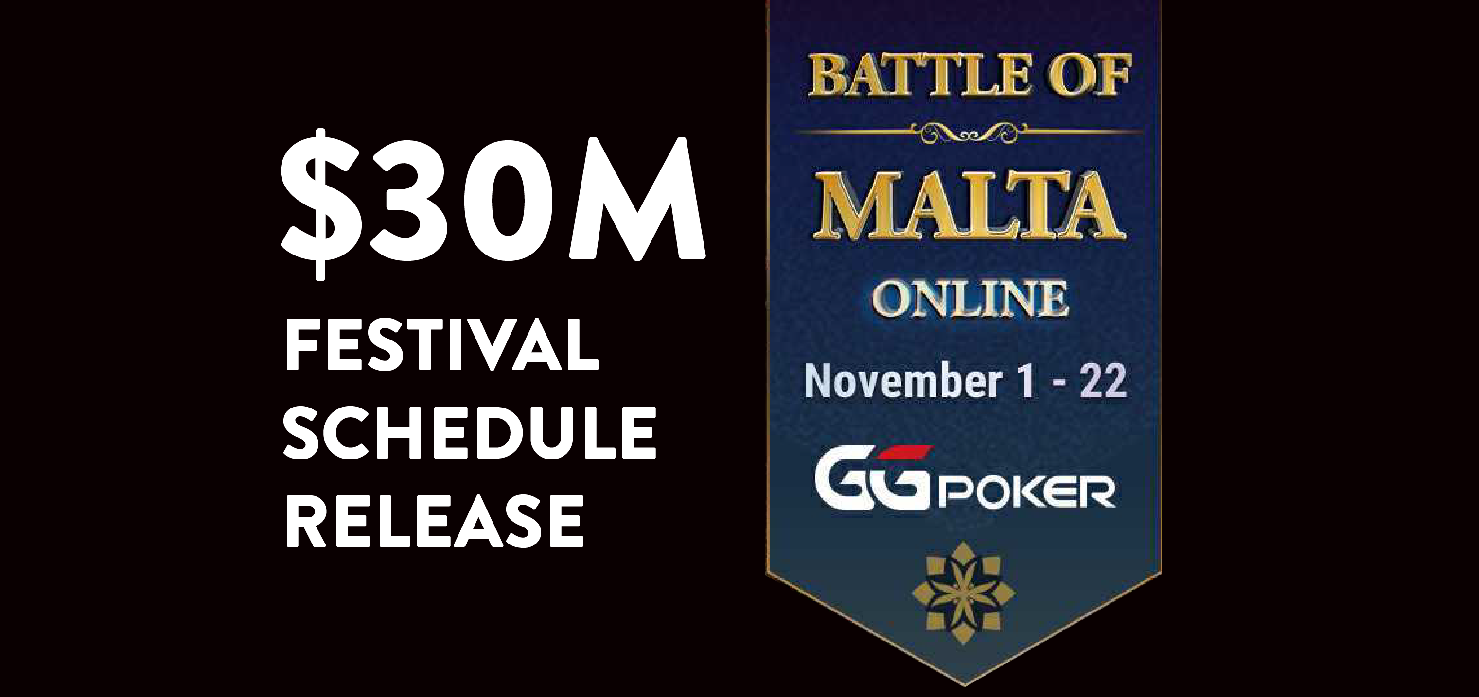 30 M Festival Schedule Release for the Battle of Malta 2020